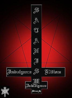 la cruz invertida