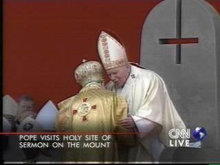 Papa cruz invertida
