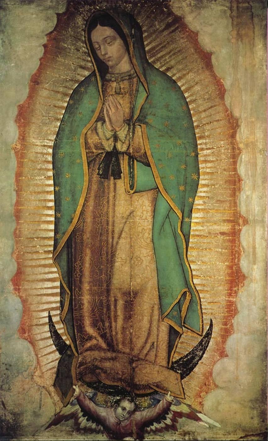 Virgen de Guadalupe: Dos imágenes que desmienten definitivamente \